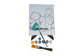 Silinebilir Tuval Seti 20X25 (Beyaz)