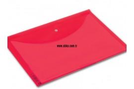 A4 Renkli Çıtçıt Dosya Kırmızı