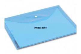 A4 Renkli Çıtçıt Dosya Mavi