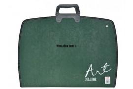 28X38 Teknik Proje Çantaları Yeşil