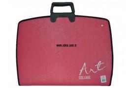 28X38 Teknik Proje Çantaları Kırmızı